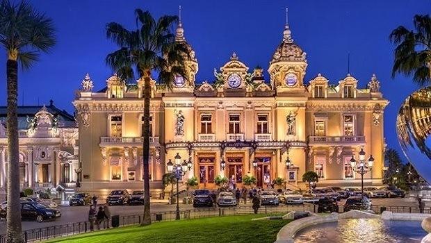 Bröllop i Monaco Monte-Carlo casino