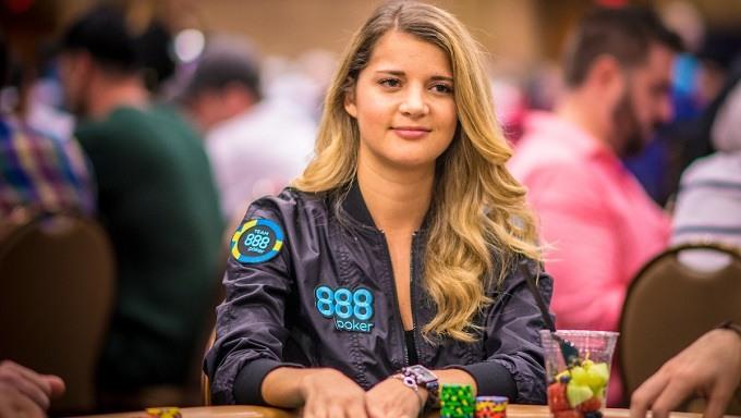 Sofia Lövgren kvinnlig pokerspelare
