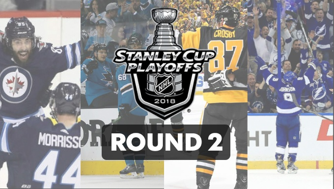 The Best 2018 Stanley Cup Playoffs 2nd Round Betting Tips