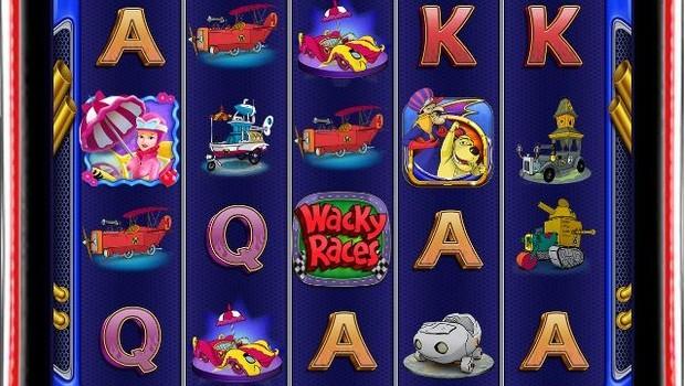 Wacky Races kolikkopeli