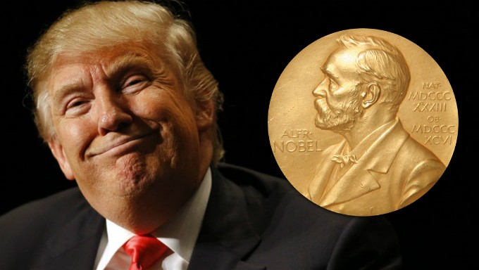 President Trump Among Favourites to Win Nobel Peace Prize