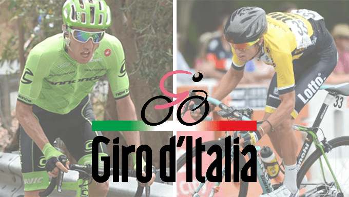 Head-to-Head Betting Tips for the 2018 Giro d'Italia