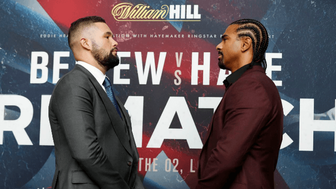 Betting Breakdown for the Tony Bellew vs David Haye Fight