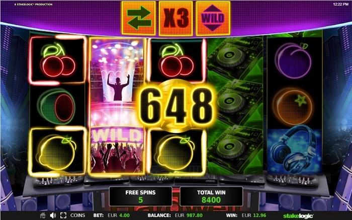 Vinn VIP-resa till Las Vegas på electrohouse-inspirerad slot
