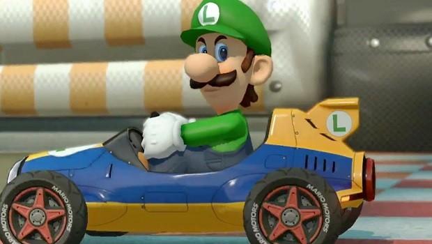 Mario Kart La mirada de la muerte de Luigi