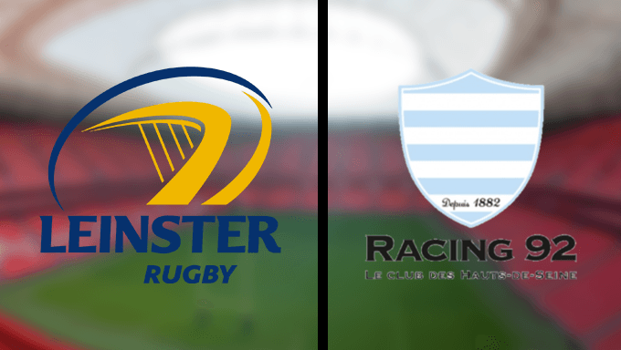 Top Leinster vs Racing 92 ERCC Final Betting Tips and Odds