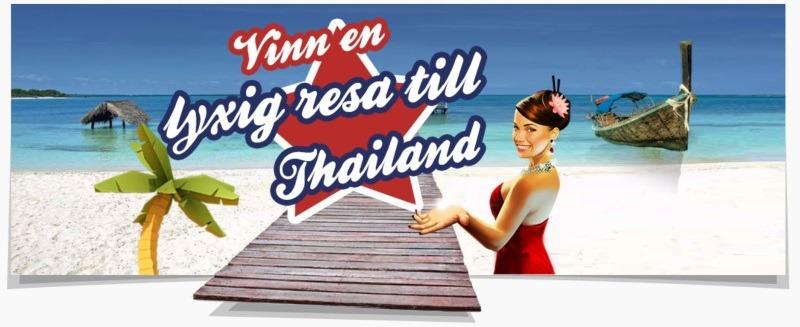 Spela casinospel och tävla om en drömresa till Thailand