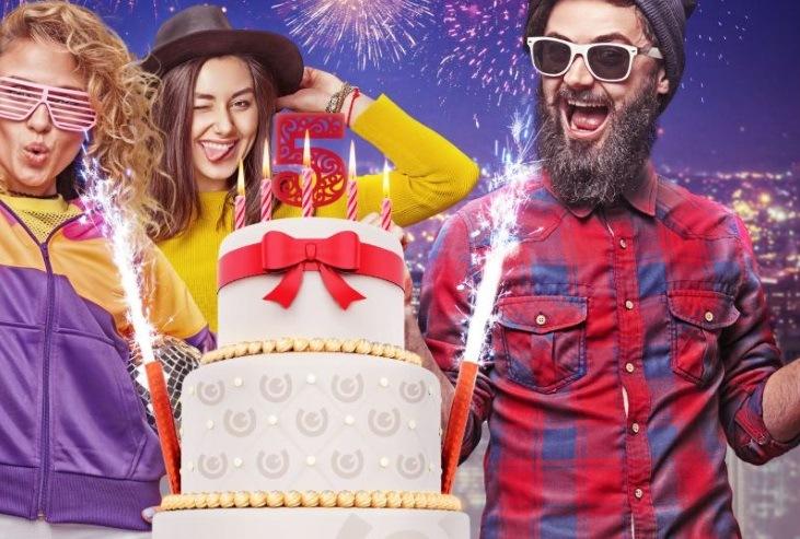 Vinn 1 miljon kronor i mobilcasinos födelsedagslotteri