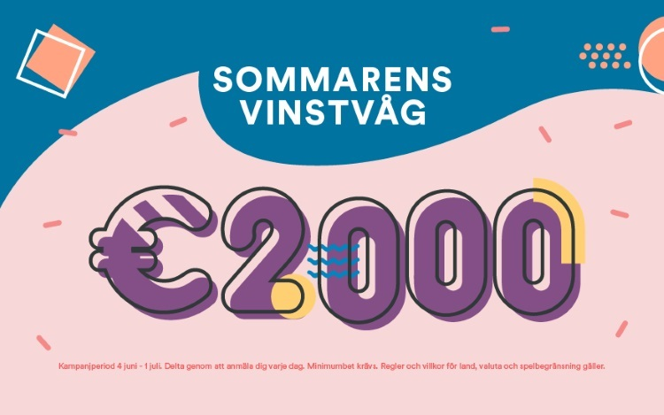Vinn cashpriser i stor sommartävling hos svenskt casino