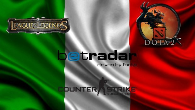 Betradar Introduces Italy to eSports Betting