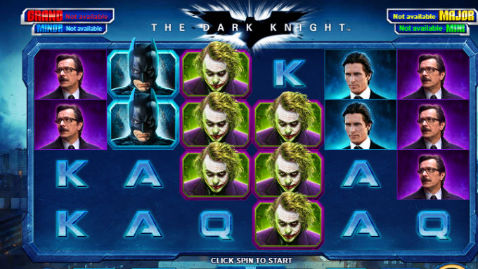 Dark Knight Slot by Playtech is Latest 'Super' Online Game