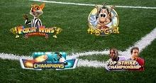 Fotboll anstormar casinovärlden med nya spelautomater