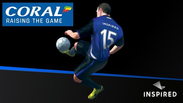 Inspired Rolls Out Virtual Football Across Coral's UK Betting