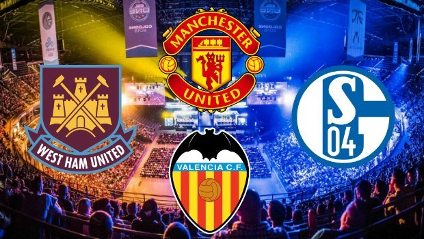eSports and Football Collide: Man United and Valencia Among Top