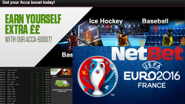 Euro 2016 Weekly Bonus: Accumulator Fans Flocking to NetBet