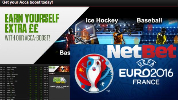 Euro 2016 Weekly Bonus: Accumulator Fans Flocking to NetBet