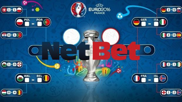 Euro 2016 Weekly Bonus: NetBet Easing Stress with Quarter-Final Offers