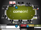 ComeOn! Poker Screenshot