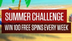 Earn up to 100 Free Spins Each Week with NetBet's Summer Spins Challenge