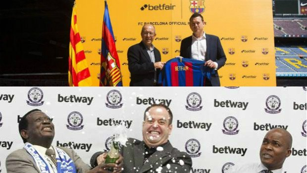 Betfair Secures FC Barcelona Betting Partnership, Betway Lands 5