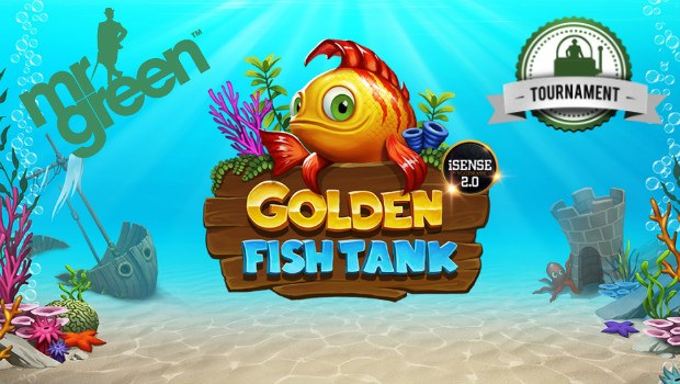 Dive Into Mr Green's €25K Golden Fish Tank Slot Tournament