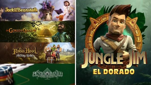 Grosvenor Casino Debuts NetEnt Slot Collection, Microgaming Launches Highly Anticipated Jungle Jim El Dorado Slot