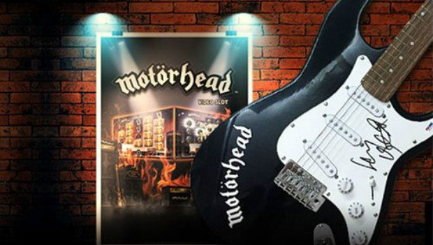 Guitar Signed by Motörhead Legend Lemmy Up for Grabs at Leo Vegas Casino