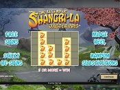 The Legend of Shangri-La: Cluster Pays  Skjermbilde 1