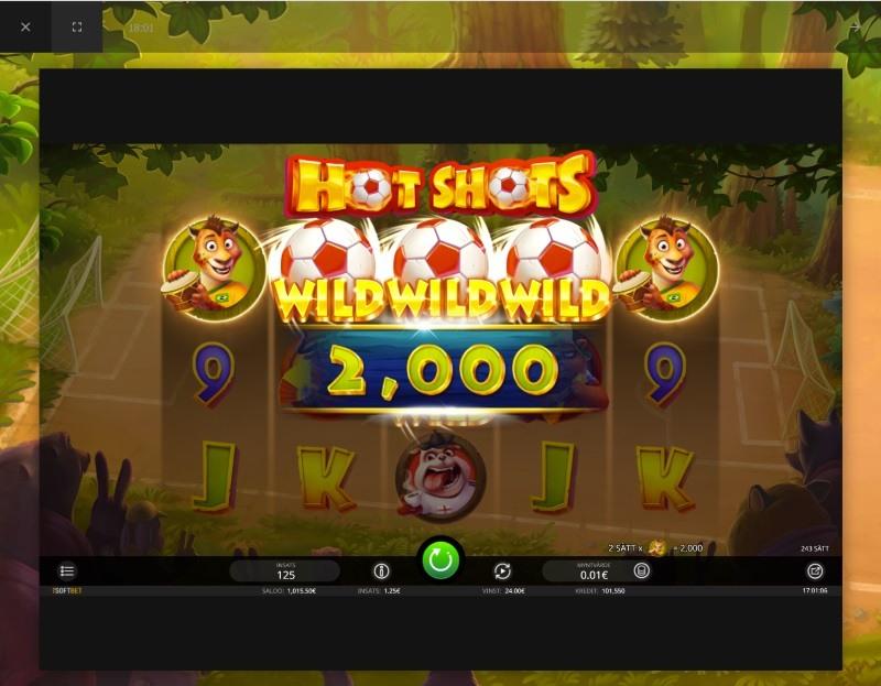 Delta i Hot Shots turnering och spela om 80 000 kronor hos casino i mobilen