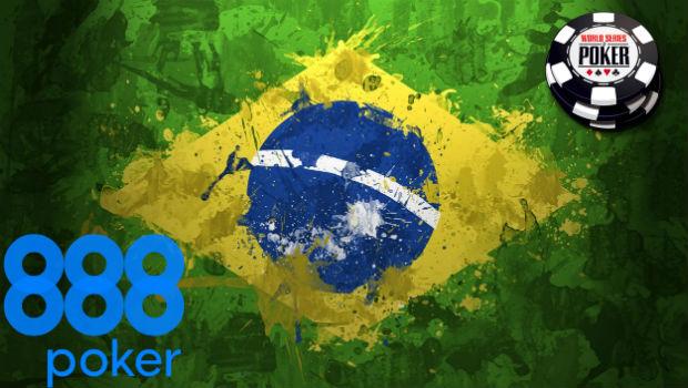 888poker to Provide Online Satellites for WSOP Brazil