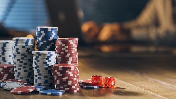 Jetons im Casino