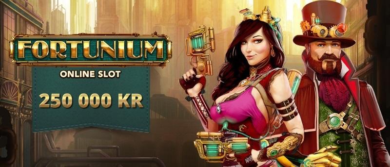 Tävla om gyllene prispott i nya spelautomaten Fortunium