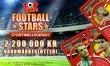 Fira årets fotbollsfest och vinn din del av 2,2 miljoner kr hos online casino