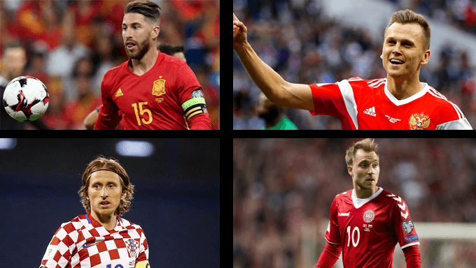 Spain vs Russia & Croatia vs Denmark Betting Tips