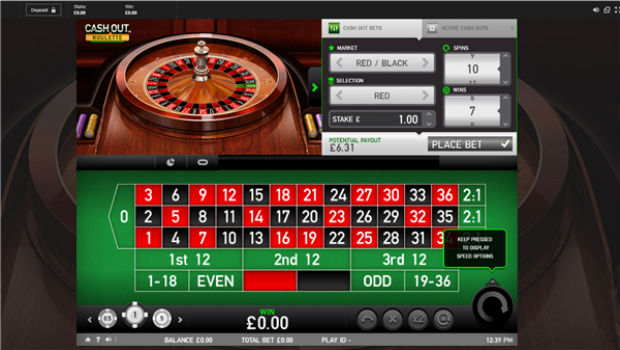 Betfair Unveils Highly Anticipated Cash Out Roulette