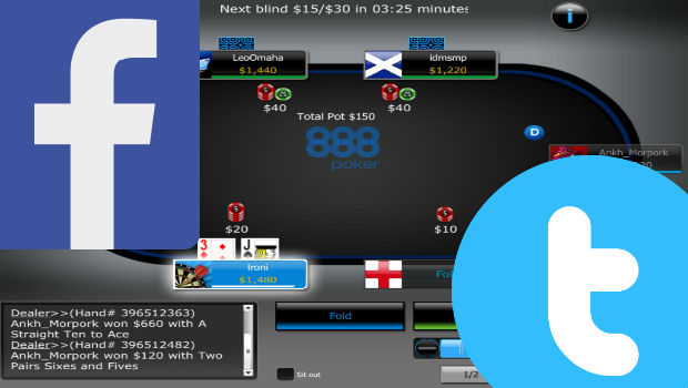 888poker Offers Social Media Promotions You Don't Want to Miss