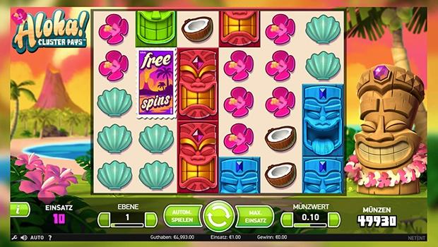 Slot-Spiel Aloha