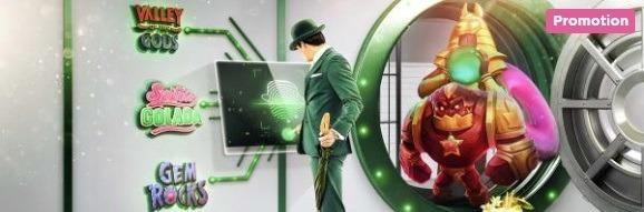 Mr Green den stora fotbollskuppen kampanj