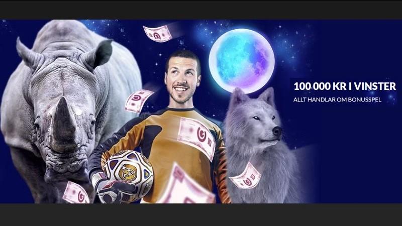 Turnera om 100 000 kr hos generöst casino på nätet
