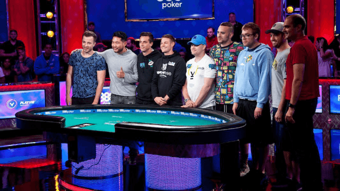 Final Table Is Set At 2018 World Series Of Poker Main Event