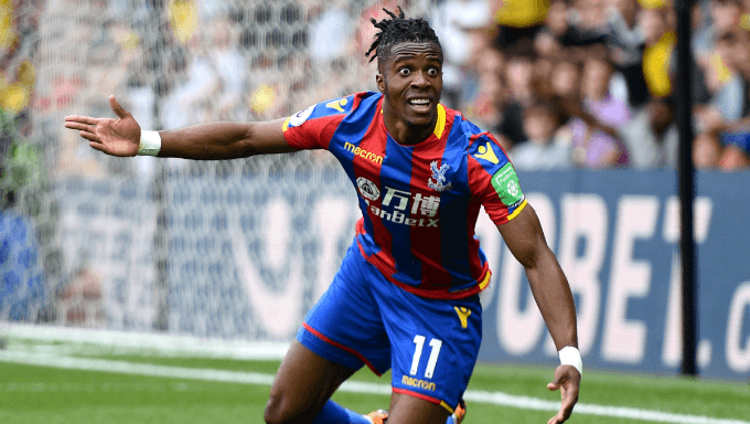 Wilfried Zaha Knows Where He Wants to Play Football Next