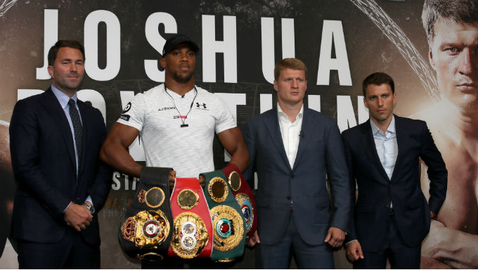 Anthony Joshua, Alexander Povetkin Finalize Terms for Fight