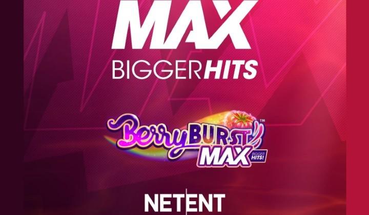 NetEnt släpper nytt spelkoncept med högre vinster i MAX-serie