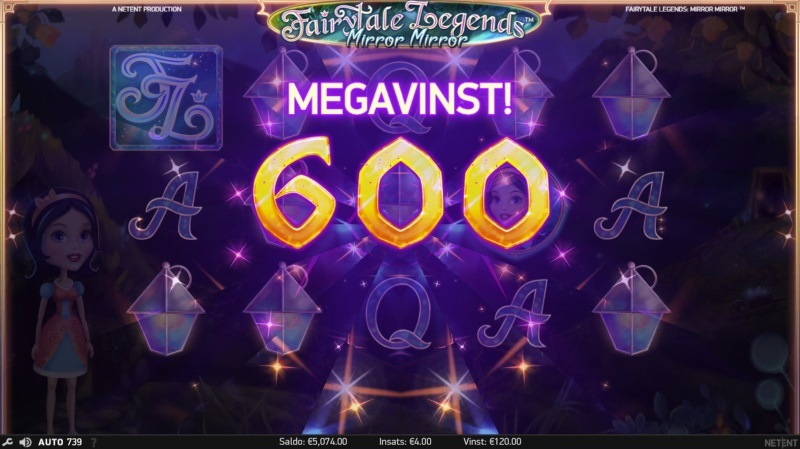 Sagolika cashpriser i turnering på ny spelautomat från NetEnt