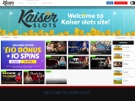 Kaiser Slots Live Casino Screenshot