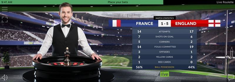 Fotboll Roulette