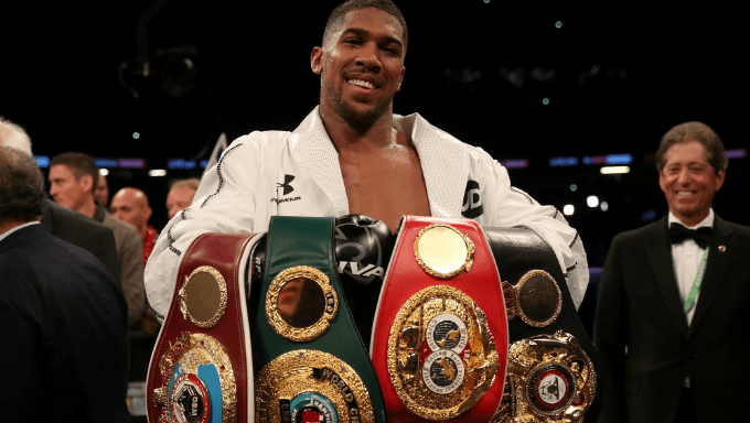 William Hill Announces Anthony Joshua as Global Ambassador