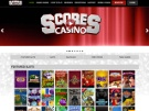 Scores Casino Screenshot