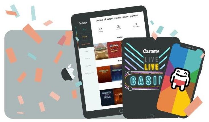 Spela live casino i mobilen för €10000 och priser från Apple