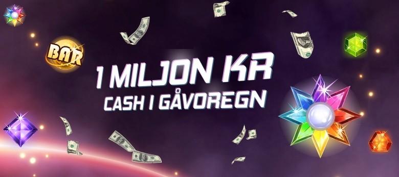 Delta i miljonregn hos casino på nätet